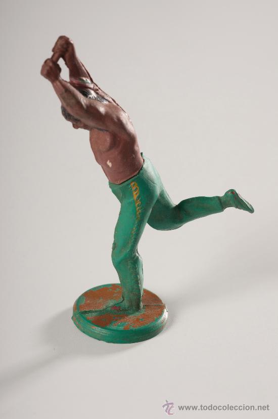 Figuras de Goma y PVC: Indio en goma, desmontable, Fabricado por Gama, Años 1950-60 - Foto 2 - 27147828
