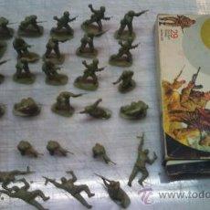 Figuras de Goma y PVC: LOTE SOLDADOS EN CAJA DE AIRFIX 1975. Lote 27184333