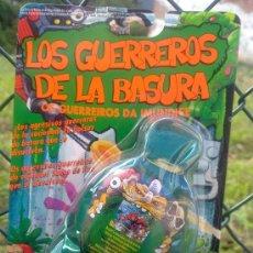 Figuras de Goma y PVC: LOS GUERREROS DE LA BASURA.NUEVO BLISTER ORIGINAL(NUNCA HABIERTO)AÑOS 8O.ERA HE MAN GIJOE. Lote 241143970