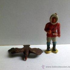 Figuras de Goma y PVC: ESQUIMAL DE GOMA DE SOTORRES. Lote 27629896