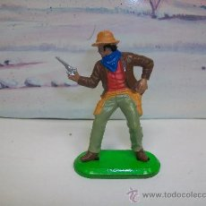 Figuras de Goma y PVC: FIGURA VAQUERO DE BRITAINS . Lote 27684107