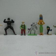 Figuras de Goma y PVC: LOTE DE FIGURITAS VARIADAS FABRICADOS EN PASTICO. Lote 27707001