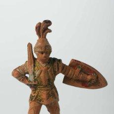 Figuras de Goma y PVC: FIGURA EN GOMA DE REAMSA Nº 118, CABALLERO MEDIEVAL, AÑOS 50. Lote 27395766
