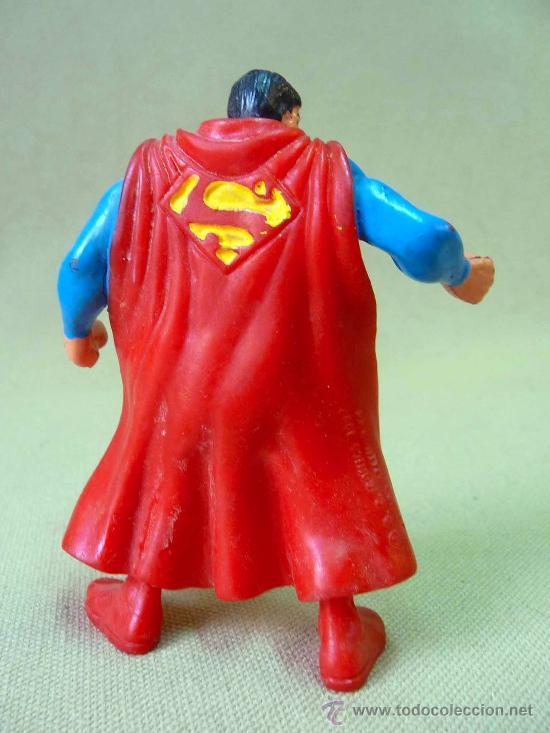 Figuras de Goma y PVC: FIGURA DE PVC, SUPERMAN, FABRICADO POR COMIC SPAIN, 1990s - Foto 2 - 27913590
