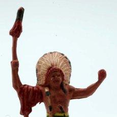 Figuras de Goma y PVC: JEFE INDIO REAMSA GOMA AÑOS 50. Lote 27951678