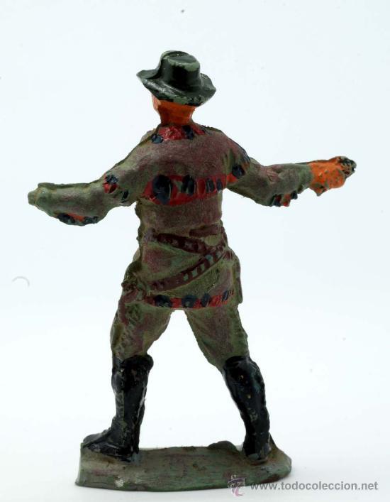 Figuras de Goma y PVC: Vaquero Pech Hermanos goma años 50 - Foto 2 - 27951834