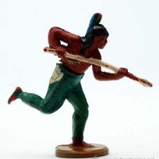 Figuras de Goma y PVC: INDIO DE GAMA GOMA AÑOS 50. Lote 27953564