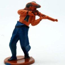 Figuras de Goma y PVC: VAQUERO GAMA GOMA AÑOS 50. Lote 27953580