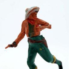 Figuras de Goma y PVC: VAQUERO GAMA GOMA AÑOS 50. Lote 27953588