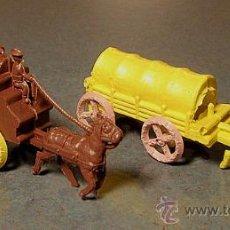 Figuras de Goma y PVC: LOTE DILIGENCIA + CARRETA MONTAPLEX. Lote 28119160