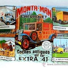 Figuras de Goma y PVC: SOBRE MONTAPLEX EXTRA Nº 41 MONTAMAN CHEVROLET - SOBRE CERRADO. Lote 176282298