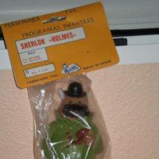 Figuras de Goma y PVC: MUÑECO SHERLOCK HOLMES ( WATSON ) ORIGINAL DE JUGASA , AÑOS 80 . NUEVO A ESTRENAR .. Lote 140338705