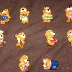 Figuras Kinder: JUGUETES - KINDER - LOTE DE 10 FIGURAS HUEVOS KINDER LEONES. Lote 28386661