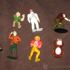Figuras Kinder: JUGUETES - KINDER - LOTE DE 8 FIGURAS HUEVOS SORPRESA Y KINDER. Lote 28386856