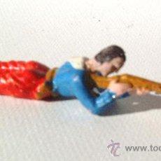 Figuras de Goma y PVC: ALCA CAPELL.VAQUERO TENDIDO FUSIL.REF.2707. Lote 160771548