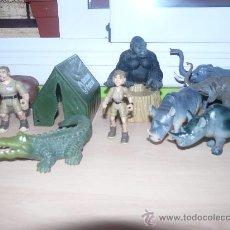 Figuras de Goma y PVC: SET FIGURAS DE ANIMALES DE LA SELVA - ANIMALES DE LA JUNGLA . Lote 28543944