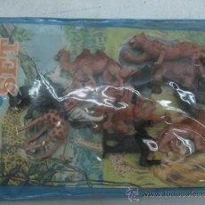 Figuras de Goma y PVC: ANIMAL SET - 12 ANIMALES- . Lote 28651233