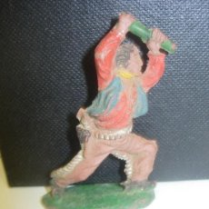 Figuras de Goma y PVC: COWBOY VAQUERO DE LAFREDO GOMA. Lote 28726951