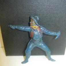 Figuras de Goma y PVC: COWBOY VAQUERO DE GOMA DE PECH. Lote 28731146