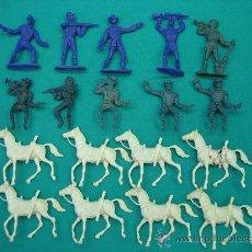 Figuras de Goma y PVC: SOLDADOS Y CABALLOS COMANSI. Lote 28904162