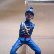 Figurines en Caoutchouc et PVC: FIGURA DE PLASTICO, SOLDADO GUARDIA MORA, FABRICADO POR TEIXIDO, 1960S. Lote 28943016