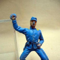 Figuras de Goma y PVC: FIGURA DE PLASTICO, SEPTIMO 7º, YANKEE, FABRICADA POR COMANSI, 7 CM. Lote 28943256