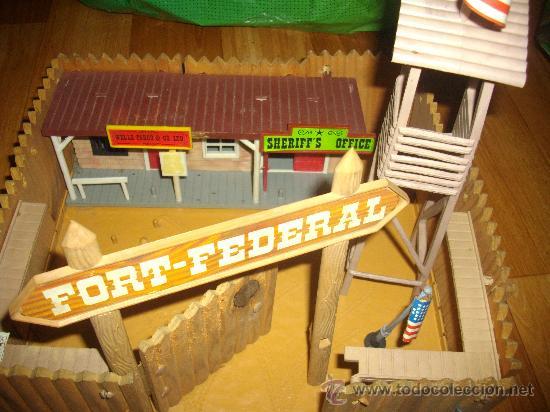 Figuras de Goma y PVC: FUERTE FORT FEDERAL COMANSI - Foto 2 - 29058159