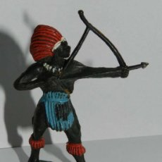 Figuras de Goma y PVC: ANTIGUA FIGURA DE NEGRO DE JECSAN, GOMA - TAL COMO SE VE EN LAS FOTOGRAFIAS, MUY RARA.. Lote 29197810