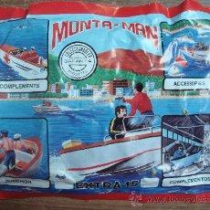 Figuras de Goma y PVC: MONTAPLEX.- MONTA - MAN.- EXTRA 15.-. Lote 76022069