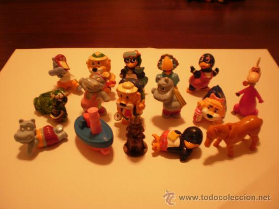 HUEVOS KINDER SORPRESA DE FERRERO FIGURAS (Juguetes - Figuras de Gomas y Pvc - Kinder)