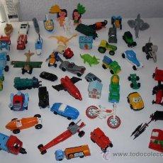 Figuras Kinder: 50 JUGUETES DE KINDER ANTIGUOS. Lote 29608449