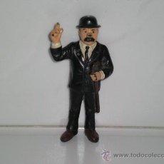 Figuras de Goma y PVC: DETECTIVE DUPONDT CON BASTON FIGURA MUNECO PVC COLECCION TINTIN BULLY. Lote 29622759