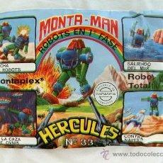 Figuras de Goma y PVC: SOBRE MONTAPLEX EXTRA Nº 33 MONTAMAN ROBOT HERCULES - SOBRE CERRADO. Lote 255994615