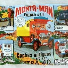 Figuras de Goma y PVC: SOBRE MONTAPLEX EXTRA Nº 40 MONTAMAN COCHES ANTIGUOS RENAULT - SOBRE CERRADO. Lote 222908947
