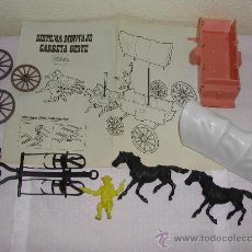 Figuras de Goma y PVC: COMANSI - FAR WEST / OESTE - CARRETA SIN MONTAR + INSTRUCCIONES. Lote 29792721