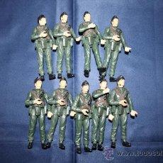 Figuras de Goma y PVC: LOTE DE 9 SOLDADOS DE GOMA DE LOS AÑOS 60/70 ARTICULABLES. Lote 29774066