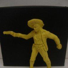 Figuras de Goma y PVC: FIGURA DE PLÁSTICO SIN PINTAR OESTE VAQUERO COWBOY. Lote 29866728