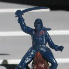 Figuras de Goma y PVC: SOLDADO DEL 7º DE CABALLERIA DE LAS MARCA PECH, AÑOS 60. Lote 29870345