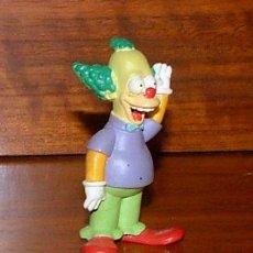 Figuras de Goma y PVC: FIGURA DE PVC DE 'LOS SIMPSON': KRUSTY EL PAYASO. Lote 30021018