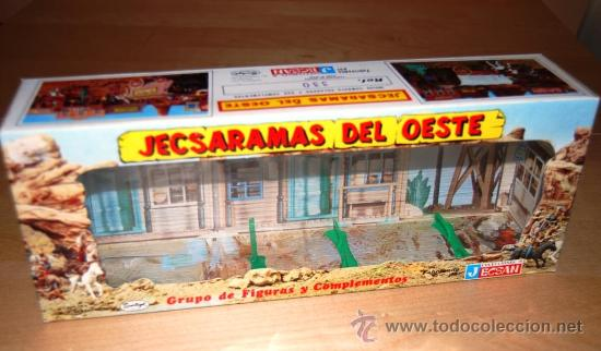 JECSAN. CAJA JECSARAMAS DEL OESTE (Juguetes - Figuras de Goma y Pvc - Jecsan)