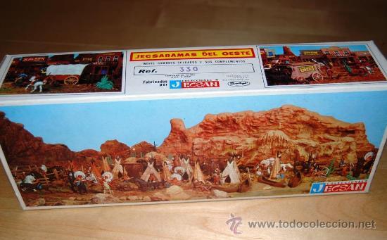 Figuras de Goma y PVC: Jecsan. Caja Jecsaramas del Oeste - Foto 2 - 30068732