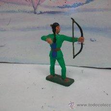 Figuras de Goma y PVC: INDIO STARLUX - FIGURA DE STARLUX - - INDIO SIOUX MODELO COMANSI. Lote 30156032