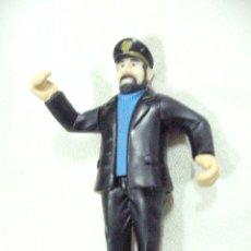 Figuras de Goma y PVC: FIGURA CAPITAN DE LA SERIE TINTIN - ENVIO GRATIS A ESPAÑA. Lote 35703016