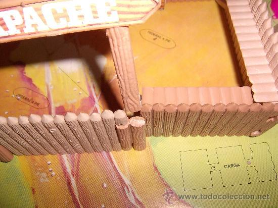 Figuras de Goma y PVC: COMANSI CAJA -FUERTES-SERIE OESTE/FAR-WEST,REF. 31 MODELO Nº 1 COMPLETO.AÑOS 70.FUERTE COMANSI. PTOY - Foto 2 - 30289089