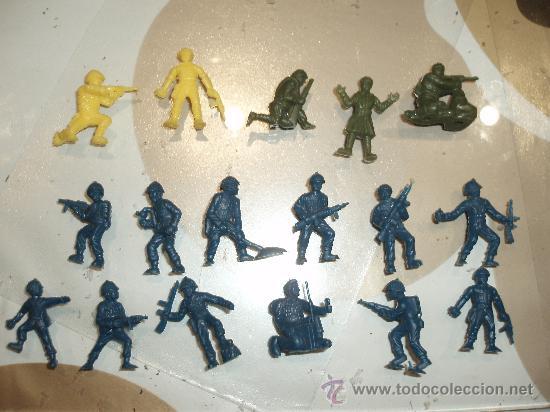 FIGURAS SOLDADOS DUNKIN LOTE 17 (Juguetes - Figuras de Goma y Pvc - Dunkin)