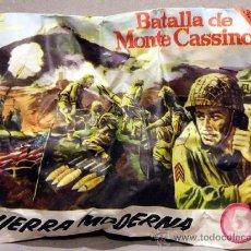 Figuras de Goma y PVC: SOBRE MONTAPLEX GUERRA MODERNA BATALLA DE MONTE CASSINO ITALIA MONTAPLES MONTECASSINO. Lote 218200660