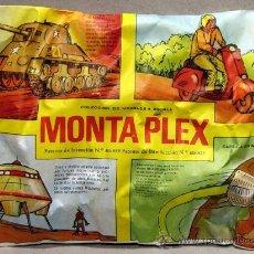 Figuras de Goma y PVC: SOBRE MONTAPLEX MIXTO 4 EN 1 VESPA MOTO TANQUE SHERMAN CAPSULA GEMINI PLATILLO VOLANTE OVNI. Lote 210798704