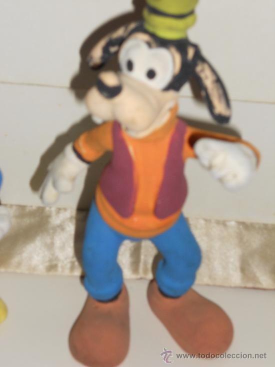 Figuras de Goma y PVC: ANTIGUA FIGURA DE GOMA DEL PATO DONALD Y PLUTO . - Foto 7 - 30567775