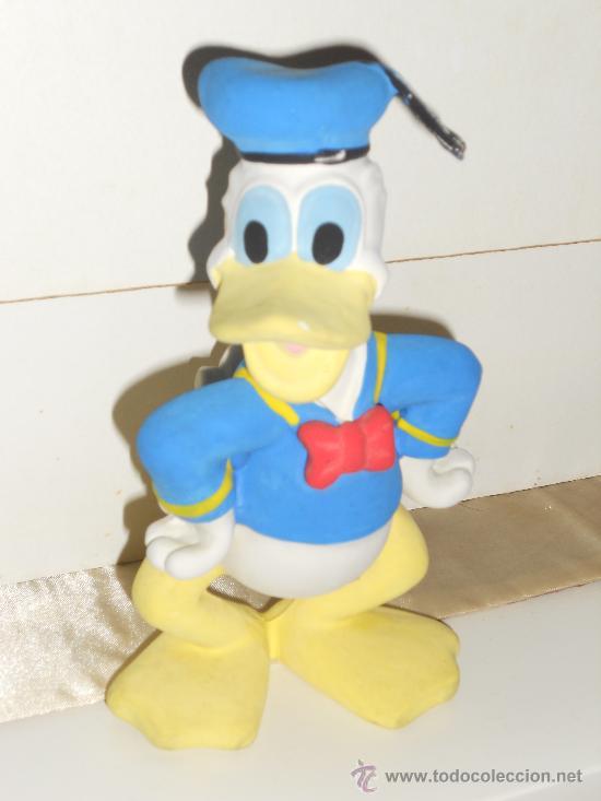 Figuras de Goma y PVC: ANTIGUA FIGURA DE GOMA DEL PATO DONALD Y PLUTO . - Foto 8 - 30567775