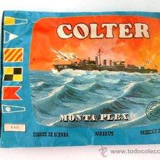 Figuras de Goma y PVC: SOBRE MONTAPLEX Nº 432 BUQUE DE GUERRA COLTER - SOBRE CERRADO. Lote 57241410